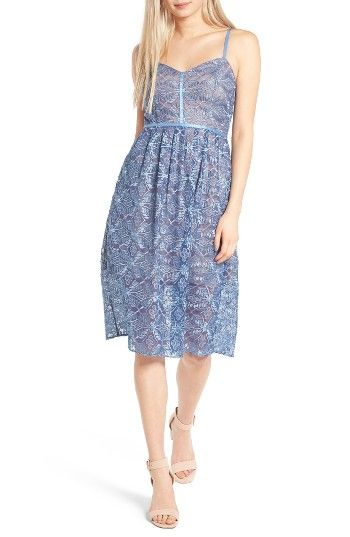 Free shipping and returns on devlin Eloise Embroidered Lace Slipdress at Nordstrom.com. Lustrous satin trim traces the shoulders and illuminates the fitted bodice of a romantic embroidered-lace dress that's perfect for all your summer occasions.