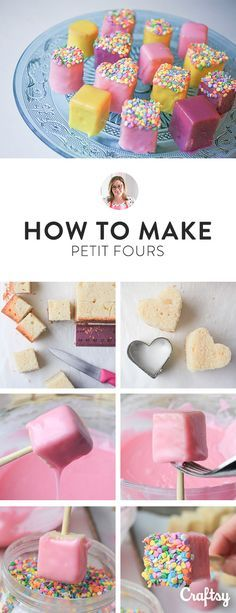 In the world of teeny, tiny sweet treats, petit fours are king. Petit fours are little squares of cake wrapped in a crunchy, sweet fondant shell. Read on to learn how to make petit fours at home.