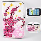 Cherry Blossoms Flip PU Leather Skin Case Cover For Samsung Galaxy S3 Mini i8190