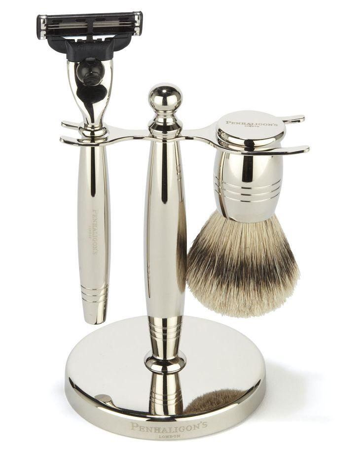 Penhaligon's | Nickel Shaving Set #Penhaligons http://www.regentstreetonline.com/Shopping/Penhaligon's.aspx