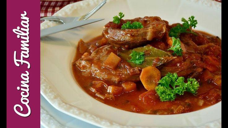 Ternera guisada con verduras estofado tradicional | Recetas caseras de J...