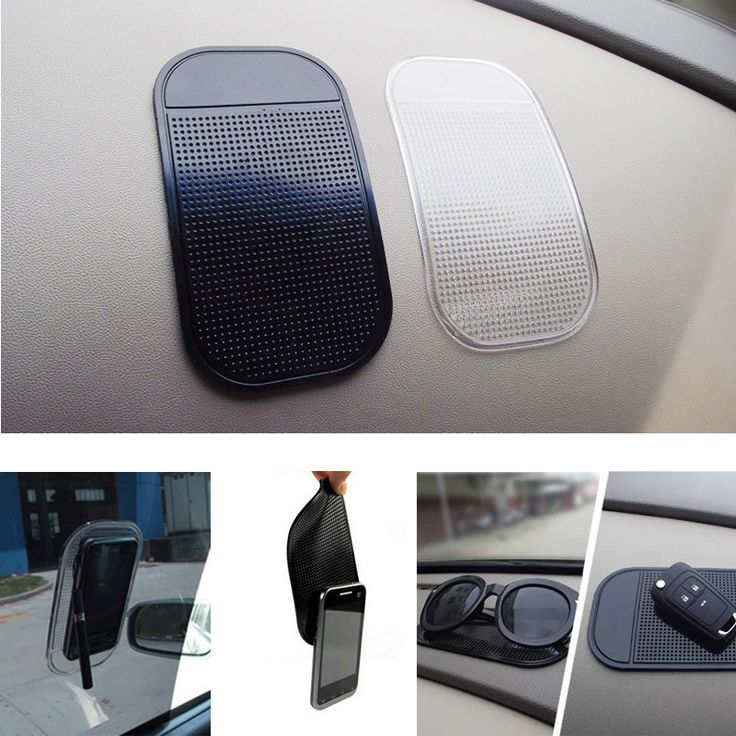 1 UNID Car Dashboard Sticky Pad Silica Gel Cojín Pegajoso Mágico Titular Anti Slip Mat Para El Teléfono Móvil Del Coche Del Coche Accesorios 2 colores
