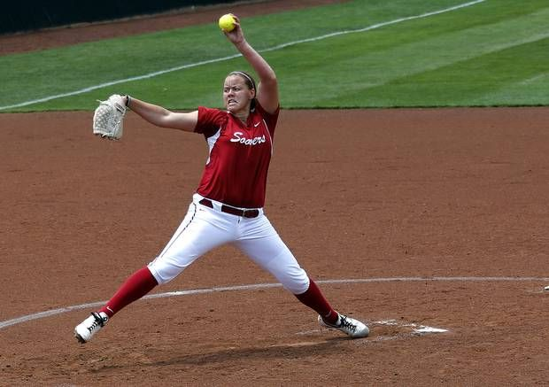 Oklahoma Softball Pitcher Ricketts | College softball: Oklahoma's Keilani Ricketts named national player of ...