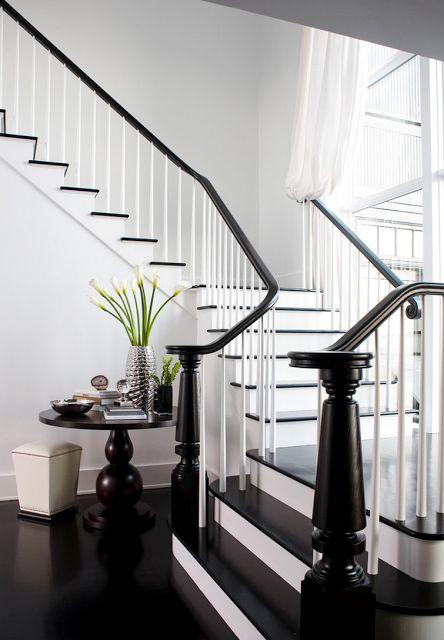 17 mejores ideas sobre escaleras pintadas de negro en pinterest ...