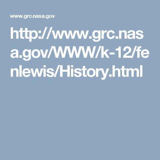 http://www.grc.nasa.gov/WWW/k-12/fenlewis/History.html