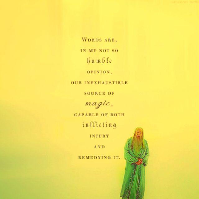 Dumbledore.: