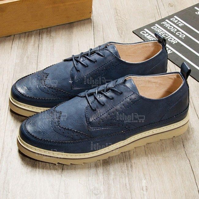Yüksek Kaliteli Malzemelerden Üretim Moda Erkek Ayakkabı Modelleri - 571582 - 41-2