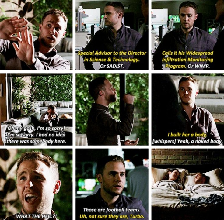 Marvel's Agents of S.H.I.E.L.D. Season 4, episode 1: The Ghost Fitz throughout the episode, but mainly at Radcliffe's house