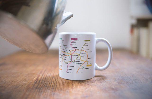 Témoignages clients : un mug cadeau pour le pot de départ d'une collègue de Karine