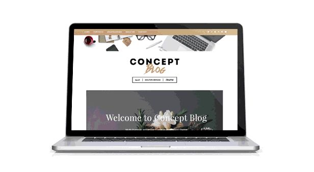 Concept Blog - Powerful Creative WordPress Theme. The first release of theme includes 6 concepts: Standart, Color, Magazine, Flat, Block, Photoblog. Theme Options allow you to customize each to your taste. Font, background and color options will help you create the Website you need in no time. #wordpress #wp #theme #blog #creative #themeforest