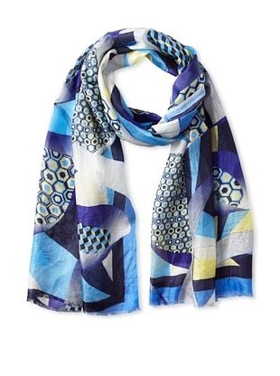 73% OFF Micky London Women's Night Fever Scarf, Multi