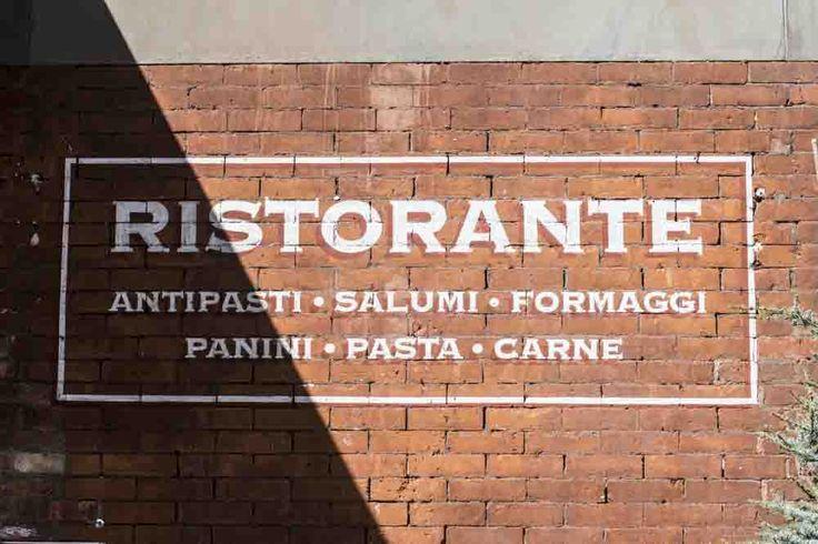 Ristorante Salumi Antipasti Panini Pasta Carne segno