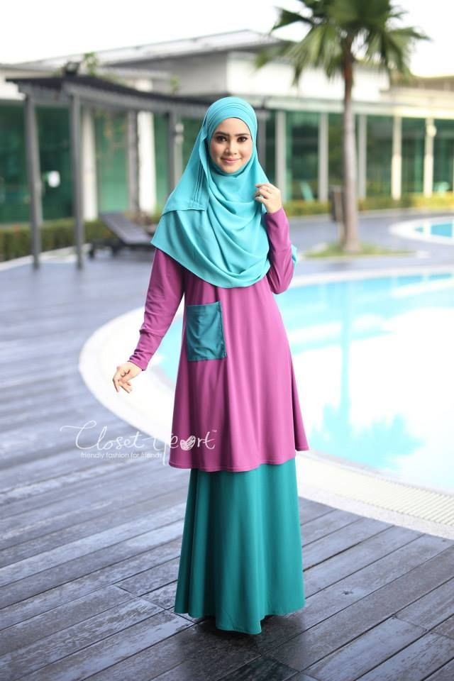 CODE : CHALT 178 AVAILABLE SIZE ( S,M,L ) Color: Dusty purple pocket Turquoise Material: Moss Crepe Price: RM100 (exclude postage)  SKIRT (READY STOCK) Code: CHS 118 Color: Emereld Green  Material: Moss Crepe Price: RM110 (exclude postage)  RUMAISA PLEATED SHAWL (READY STOCK) Code: DHRPS 008 Color: Turquoise  Material: Georgette Chiffon Price: RM55 (exclude postage)  *kindly PM us to purchase. tqvm