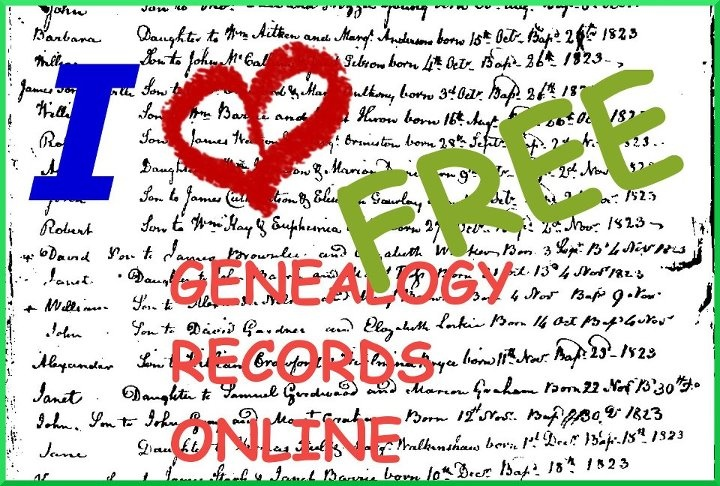 Familysearch.org, the best free genealogy records site online! :-)