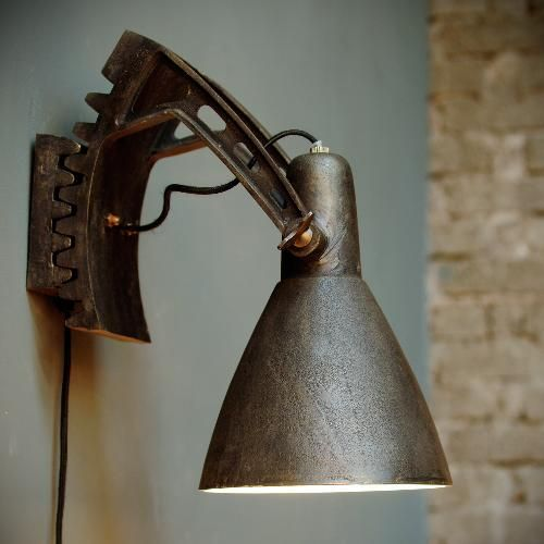 Wall Lamps Industrial : 1000+ images about Vintage wall lights on Pinterest Industrial, Industrial wall sconces and Lamps
