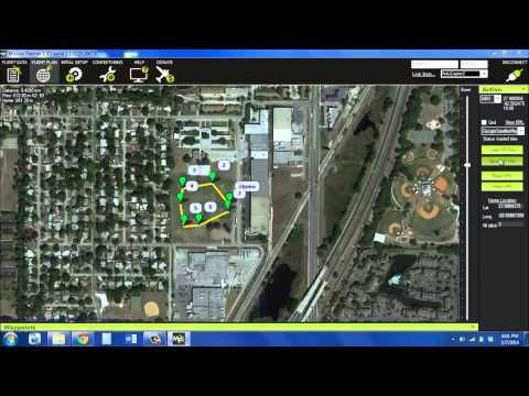 How to use Walkera QR x350 Pro with Mission Planner