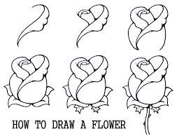 how to draw flowers google search - Easy Drawings For 12 Year Olds