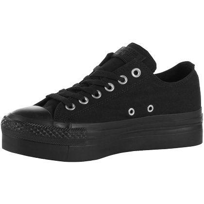 Coole #Sneakers in #Schwarz von #Converse. Die markante #Plateau #Sohle ist das Highlight des Schuhs. ♥ ab 79,90 €