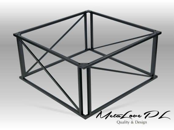 "16""  ZACO 2 Coffee table base, Metal base"