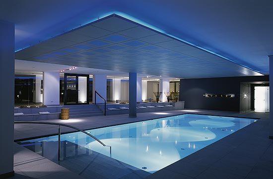 Indoor pool @ Hotel Madlein in Tyrol
