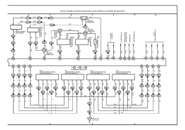 Image Result For 2005 Lexus Lx470 Wiring Diagram