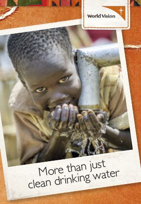 Clean water makes a world of difference for children's health and wellbeing in countries like South Sudan.