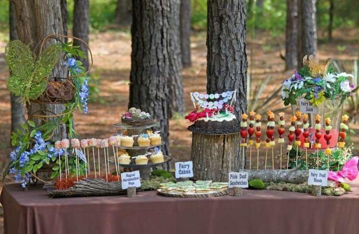 Come organizzare un party in giardino - Buffet all'aperto
