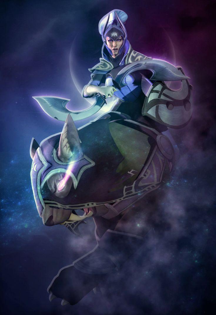 Dota 2 - Luna The Moonrider