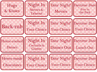 valentine coupon book for parents