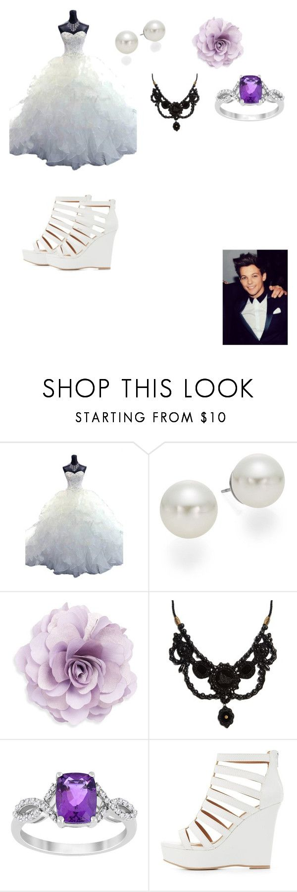 """Louis Tomlinson Wedding Day"" by cheyenneedwards333 on Polyvore featuring AK Anne Klein, Cara, Gucci and Charlotte Russe"
