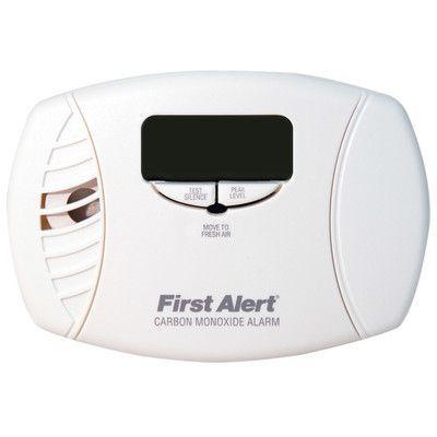 First Alert Carbon Monoxide Alarm with Backlit