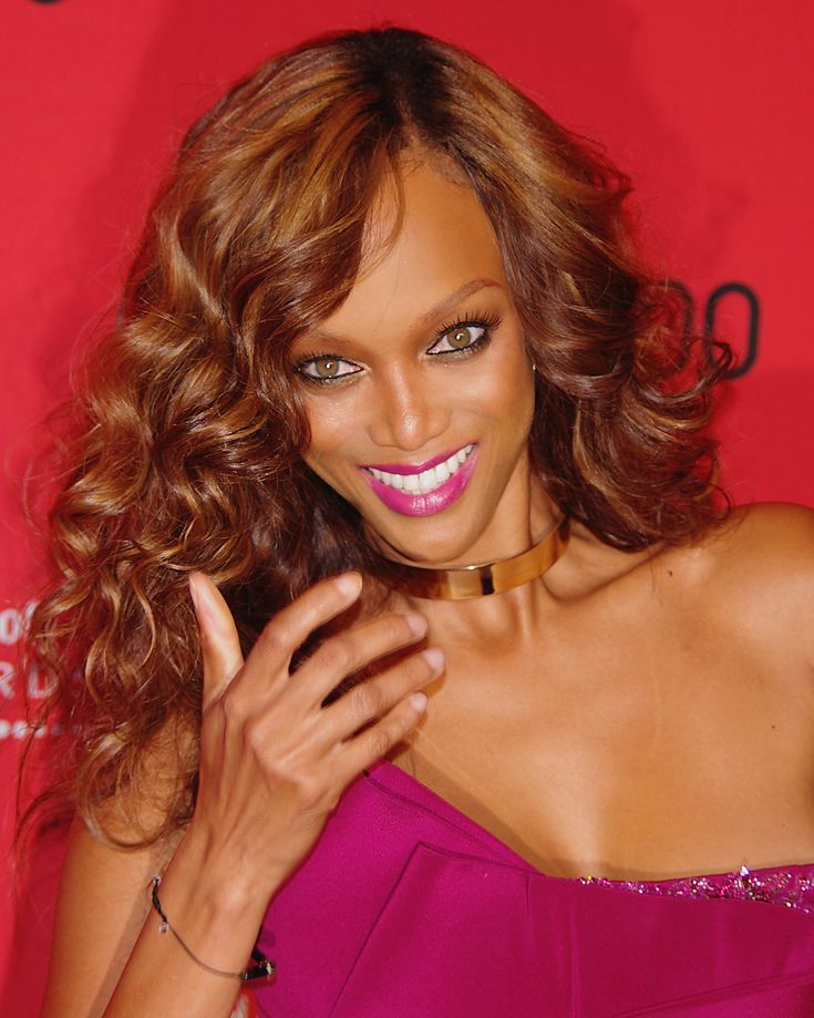 Delightful Tyra Banks ...  Yummy Babe...   In March 2011, Banks launched her fashion and beauty website called -typeF(dot)com-, which she co-created with Demand Media