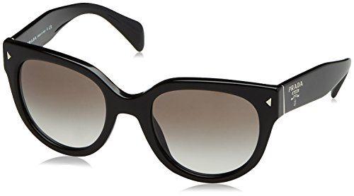 Prada Sunglasses 17Os Black, 54--142