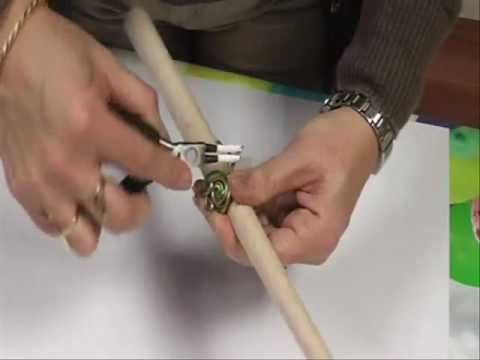 ▶ Schmuck selber machen: Ring aus Aludraht - Basteln mit Prell - YouTube