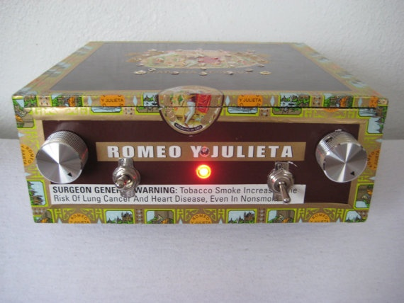 New LGR Cigar box guitar amp for sale on Etsy.com!