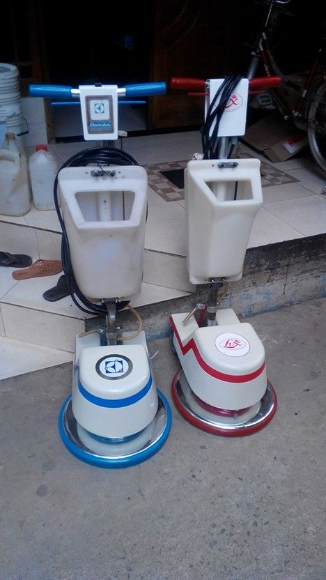Jual mesin poles lantai floor polisher lux & electrolux second 081316894242