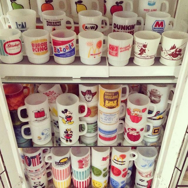 Fire King vintage mugs