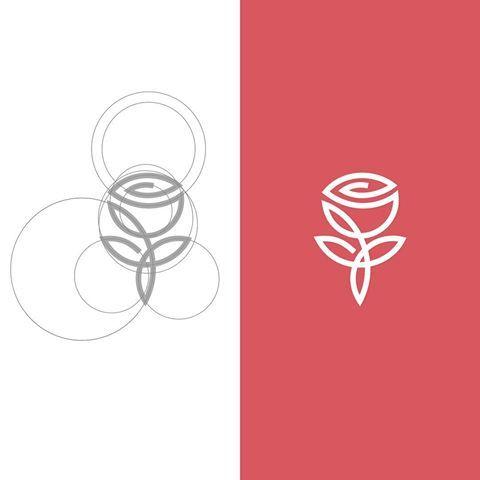 Pin By 怡伶 熊 On Logo Pinterest Logo Design Flowershop Logo