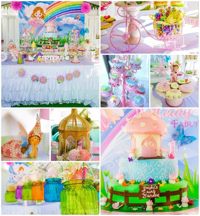 Magical Fairy Garden 1st Birthday Party