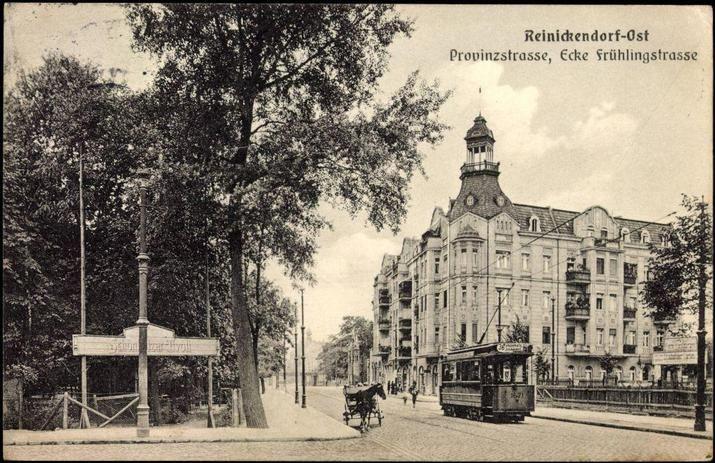 Berlin Reinickendorf-Ost,heute Pankow-Ehemalige Strassenbahnlinie 36