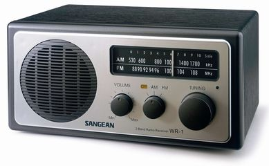 Sangean WR-1 AM/FM Table Top Radio | The Listening Post Christchurch and Wellington |
