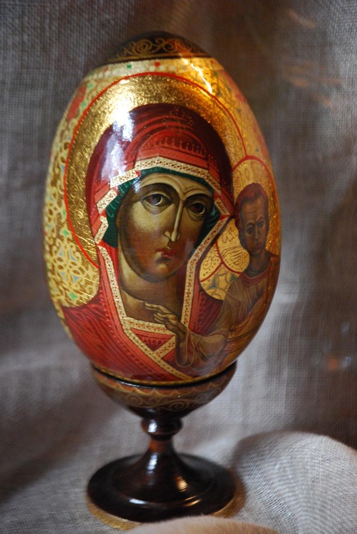 Russian Icon egg