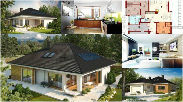 A Home Plan for Extraordinary Plain Single Story House