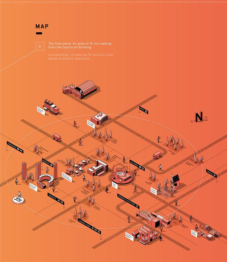 Vedi questo progetto @Behance: \u201cLondon SPECTRUM Map\u201d https://www.behance.net/gallery/46202009/London-SPECTRUM-Map