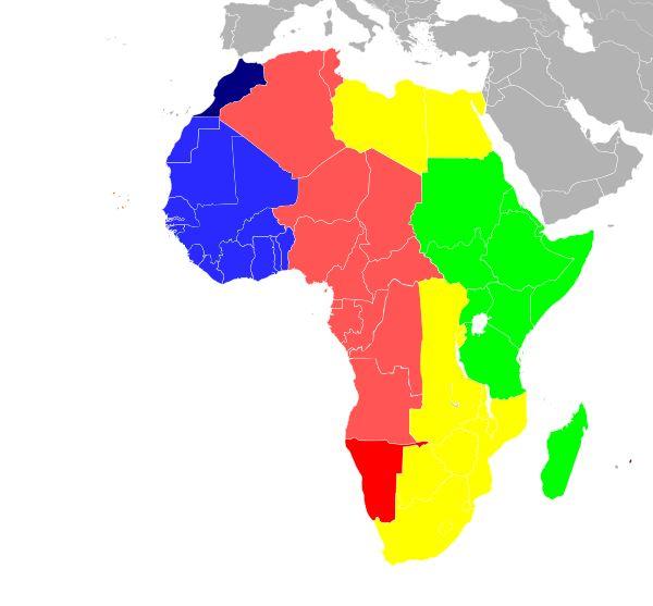 From Wikiwand: Time in Africa     UTC−01:00 Cape Verde Time     UTC±00:00 Greenwich Mean Time     UTC±00:00 UTC+01:00 Western European Time Western European Summer Time     UTC+01:00 West Africa Time / Central European Time     UTC+01:00 UTC+02:00 West Africa Time West Africa Summer Time     UTC+02:00 Central Africa Time / South African Standard Time / Eastern European Time     UTC+03:00 East Africa Time   &#...