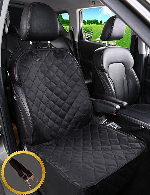 Alfheim Dog Car Seat Cover Nonslip Rubber Backing With Anchor And An Adjustable Pet