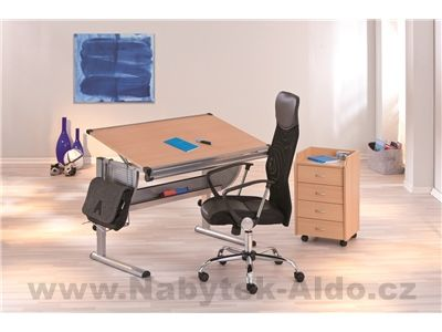 Nastavitelný psací stůl