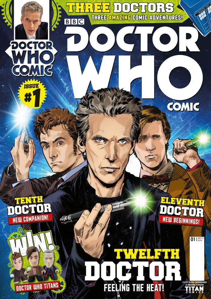 UK RELEASE: Doctor Who Comic UK Lands In Stores Later This Month #doctorwho