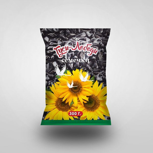 Packaging design for sunflower seeds