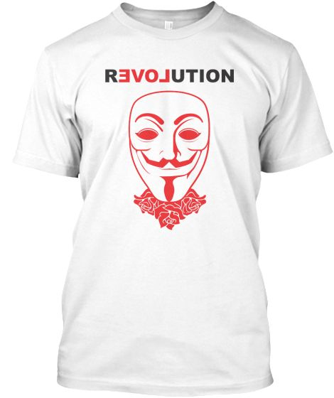 Anonymous-revolution | Teespring